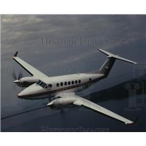 1991 Press Photo Super King Air 350 airplane