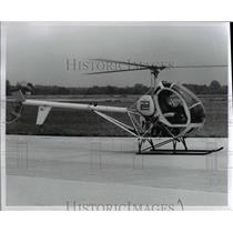 1980 Press Photo Helicopters