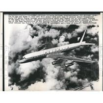1962 Press Photo Bombay, India an Alita Airlanes plane