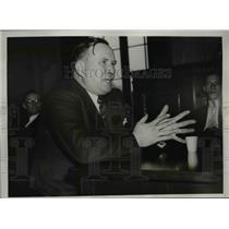 1937 Press Photo Henry M. Moses, U.S. Coal & Coke Company