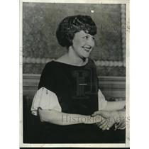 1925 Press Photo Mrs. Clyde K. Byfield's suit against Walter T. Candler