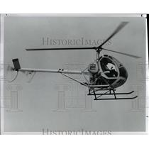 1980 Press Photo Helicopter