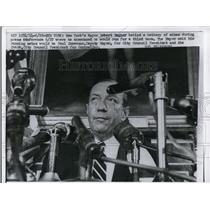 1951 Press Photo New York's Mayor Robert Wagner Running 3rd Term