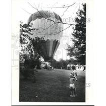 1984 Press Photo Hot air balloons
