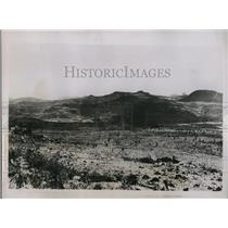 1935 Press Photo View during submission of Tigrai tribes during Italian advance