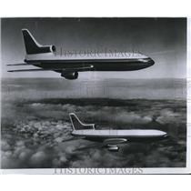 1969 Press Photo Lockheed's Rolls-Royce-powered L-1011 commercial transport