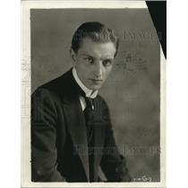 1918 Press Photo Horst Von Der Goltz confessed in court to be a German spy.