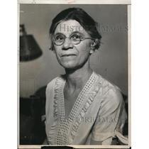 1933 Press Photo Mrs. Henry Nesbitt - nee01822