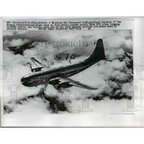 1957 Press Photo US Military Air Transport C-97 Plane - nee02881