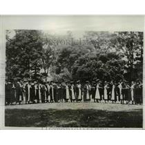 1933 Press Photo At Vassar Graduation - nee03093