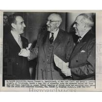 1926 Press Photo Vincent R Impellitteri, Federal taxation of future state issues