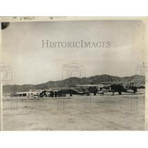 1929 Press Photo of planes getting ready to take off for an attack in Torroon,