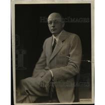 1933 Press Photo Herman H. Lind - nee04182