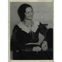 1932 Press Photo of Miss Loretta Bernard a witness for the prosecution in the