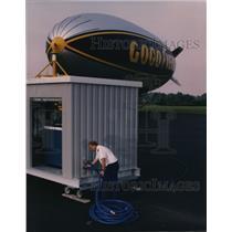 1996 Press Photo Goodyear Blimps