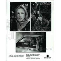 2000 Press Photo Ali Larter Final Destination - cvp69998