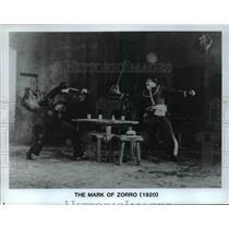 1920 Press Photo Scene from The Mark of Zorro - cvp70030