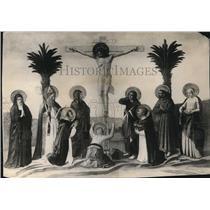 1924 Press Photo The Crucifixion by Fra Giovanni Angelico - cva64849