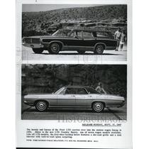 1968 Press Photo Ford automobiles of 1968
