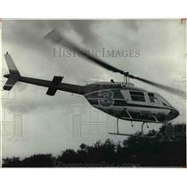 1979 Press Photo The TV 3 helicopter