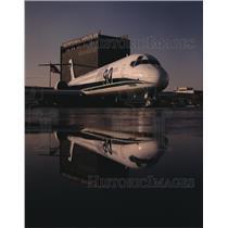 1983 Press Photo The McDonnell Douglas MD -90 twin jet