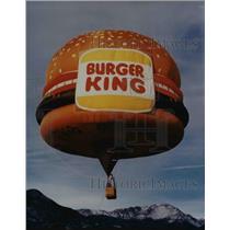 Press Photo The Burger King Balloon
