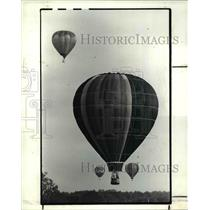 1985 Press Photo The balloons at the Race