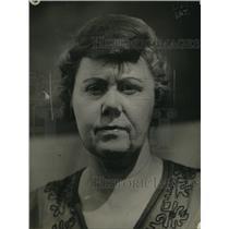 1919 Press Photo Mrs. Charles F. Firth of Covington, Kentucky