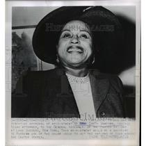 1950 Press Photo of Mrs. Edith Simpson who was appointed to the United Nations.