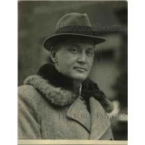 1921 Press Photo H.E. Riesser, German Embassy Secretary
