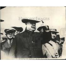 1923 Press Photo President Obragon issue orders Generals at Huamantla