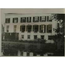 1919 Press Photo Doorn House Williams New Home In Holland