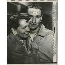 1957 Press Photo David Nurenberg Crewman Engineer William Rosewell