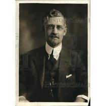 1919 Press Photo Dr Louis Van Norman, 1st trade commissioner to Poland, author