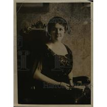 1918 Press Photo Miss Sohpie Siebert Chairman of Housing Committee Christian Sci