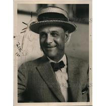1921 Press Photo boxing promoter Tex Rickard