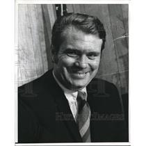 1970 Press Photo Tom Heinson, Boston Celtics Coach