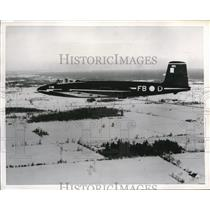 1951 Press Photo of CF-100 Canuck