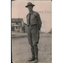 1919 Press Photo Policeman Robert J Dorman