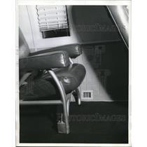 1941 Press Photo Strato Clipper Supercharging Mechanism Plane Cabin Grille