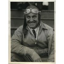 1930 Press Photo Cpt Herbert Partridge