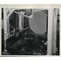 1944 Press Photo of a wing flap retraction unit.