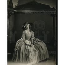 1921 Press Photo Nancy Lock on a Canadian play tour