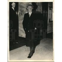 1935 Press Photo Herbert L Chittenden VP National Bank of Detroit, Mich.