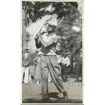 1936 Press Photo Paul Waner Pittsburgh Pirate out golfing - nes26909