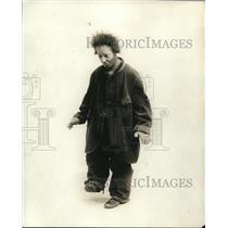 1919 Press Photo Bluck Landolf as a buffoon in Everything