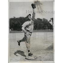 1934 Press Photo William H Myers St Louis Cardinals infielder - nes26799