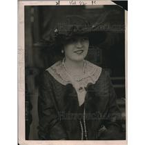 1920 Press Photo Mrs Frank Jay Gould for a British film