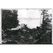 1956 Press Photo 8 People Killed in Company Plane Crash