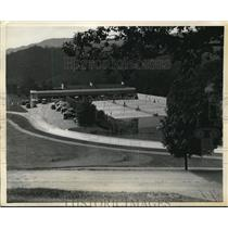 1931 Press Photo White Sulpher Springs W. Va. casino shown